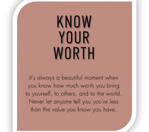Know Your Worth 4 498x441 - Home